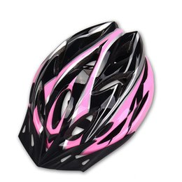 Wholesale Cycling Helmet Road - 18 Holes Bicycle Helmet EPS Foam and PC Shell Ultralight MTB Mountain Road Bike Cycling Helmet Safety Breathable Riding Helmets