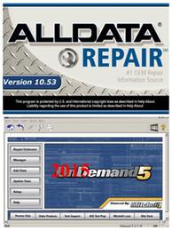 Wholesale Manual Mitchell - Alldata 10.53 Auto repair software Alldata and Mitchell OnDemand5 2015 Repair & Estimator manual+1000G HDD DHL free shipping