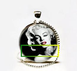 Wholesale Monroe Necklace - Hot Sale Wholesale Marilyn Monroe Red Lips Necklace Marilyn Monroe Red Lips Pendant Jewelry