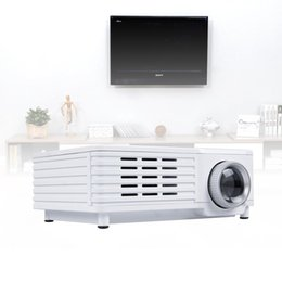 Wholesale Movie Shows - Wholesale-Multimedia Mini Projector LCD LED Home Cinema Theater Projector Support PC Laptop Wall Show Projector for Games Movie Video A273