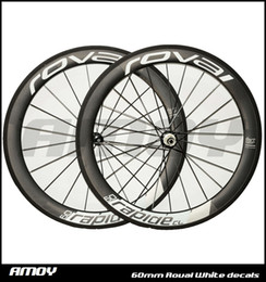 Wholesale Carbon Race Wheel Sets - 2017 new Roval 700c 25mm width 50mm rim 3k UD twill weave carbon road wheels racing clincher clincher wheelset