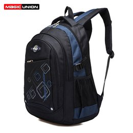 Wholesale Union Cartoons - Wholesale- MAGIC UNION Children School Bags For Girls Boys High Quality Children Waterproof Backpack In Primary School Backpacks