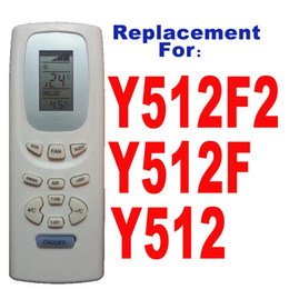 Wholesale air conditioning controls - Wholesale- GREE Split And Portable Air Conditioner Remote Control Y512F2 Y512F Y512 Air Conditioning Parts Free Shipping(1PC Lot)
