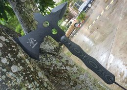 Wholesale Multifunctional Axe Hammer - Export version of the double open field camp tomahawk Fire axe Engineers axe Multifunctional axe