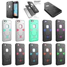 Wholesale Iphone G Cases - 2017 Rugged Defender Hybrid Kickstand Case For LG K7 K10 V10 V20 G5 G N5 flex2 LS996 Cover Skin Belt Clip Shockproof 10 colors