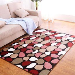 Wholesale Printed Area Rugs - Wholesale Floor Rug Anti-Slip Floor Mats Indoor Area Rug Soft Carpet for Bedroom Living Room Home Decor Size S-L JI0196