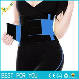 Wholesale Waist Slimming Bands - Hot sale ! New arrival Waist trainer cincher Slim waist band orthopedic back support belt with best price