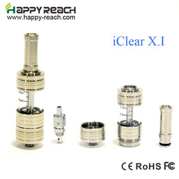 Wholesale Itaste Clearomizer - Wholesale- 5PCS 100% Original Innokin iClear x.i Clearomizer With Dual Coil atomizer vs itaste 134 MVP VTR EP iclear 30s iclear x.i