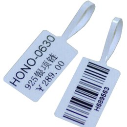 Wholesale Printers Free Shipping - Adhensive Heat Sensitive Printer Label Jewelry Store Printing Label Barcode Company Printing Price Tags 1Roll White Brand Tag Free Shipping