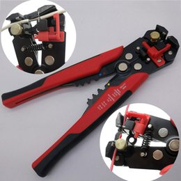 Wholesale Wire Strip Tool - hot selling Cable Wire Stripper Cutter Crimper Automatic Multifunctional Crimping Stripping Plier Tools Electric for sale