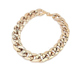 Wholesale Ccb Chain - CCB Gold Silver Chain Statement Necklaces & Pendants Fashion Necklaces For Women Christmas Gift Jewelry Accessories DHL Free Shipping