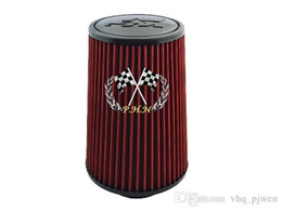 Wholesale Type K Free Shipping - Free shipping K&N Cold Air Filter K&N Air Filter Universal fit hight type Have stock and ready to ship