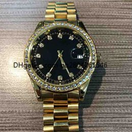 Wholesale Diamond Silver Watch Women - 2017 Sapphire blue diamond relogio masculino women luxury brand simulation sports watch show the date of the quartz watch business women