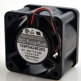 Wholesale Large 24v Fans - SANYO 109P0424E303 0.19A 4028 24V 4cm 4 cm large wind frequency converter fan
