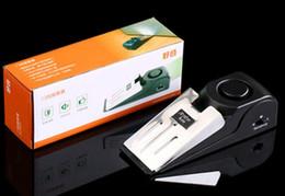Sistema de parada de 120 dB Sistema de seguridad en forma de cuña Tope de puerta Tope Bloqueo de bloqueo Bloqueo Systerm Envío gratis desde fabricantes