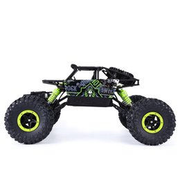 Wholesale Rc Wheels Off Road - Wholesale-Brand New Fashion 2.4 Ghz 4 Wheels Drive RC Car Climbing off-road vehicles Electric Remote Control Model Toys
