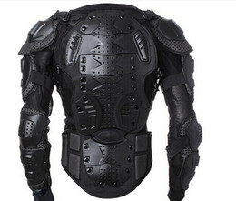 Wholesale Motorcycles Body Armor - Wholesale- 2017new Professional Motorcycle Body Protector Motocross Racing Full Body Armor Spine Chest Protective Jacket Gear Back Support