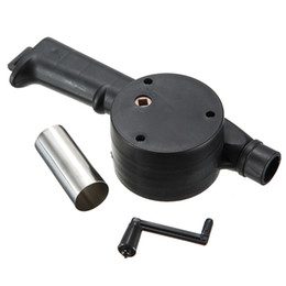 Wholesale Hand Crank Bellows - Hot Sale Outdoor BBQ Tools Hand Crank Powered Cooking BBQ Fan Air Blower for Barbecue Fire Bellows Wholesale