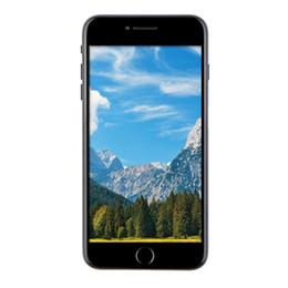 Wholesale Cheap Gold Bars - Cheap New Goophone i7 Plus V4 3G WCDMA Quad Core MTK6580 1.3GHz 1GB 8GB 5.5 inch IPS 1280*720 HD Nano SIM Card 8.0MP Camera Metal Smartphone
