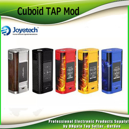 Wholesale Tap Wholesale - Original Joyetech CUBOID TAP TC 228w Box Mod TAP Buttons with Pressure-sensitive System and Vibration Motor 100% Genuine 2220075