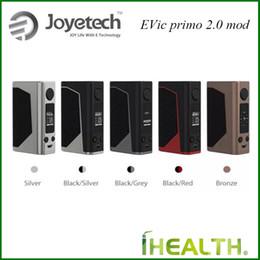 Wholesale Original Joyetech Ecig - Original Joyetech eVic Primo 2.0 TC Box MOD 228W Output 2.0A Quick Charge Battery Upgradeable Firmware ecig mods
