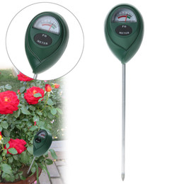 Wholesale Meters Measurement - Wholesale- PH Level Tester Soil Moisture Meter for Plants Crops Flowers Vegetable Acidity Moisture PH Measurement