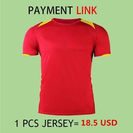 Wholesale M Payments - 2016 2017 18 Payment Link for all products Soccer Jersey Football Shirts And Tracksuit Soccer Shorts Camiseta de futbol Maillot de Foot