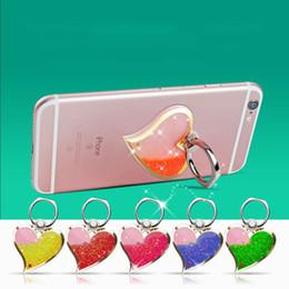 Держатели телефонов онлайн-3D-зыбучие пески в форме сердца для модели универсального телефона. Держатель для мобильного телефона. Стент.