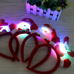2019 ornements de noël uniques Cadeau de fête de Noël en coton tenant petite main guirlande unique bandeau serre-tête Noël ornement ZJ0576 ornements de noël uniques pas cher