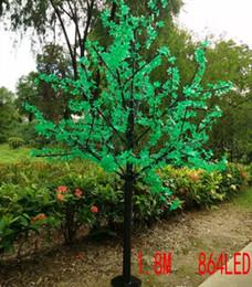Wholesale Light Blossom Tree - LED waterproof outdoor landscape garden peach tree lamp simulation 1.8 meters 864 lights LED cherry blossom tree lights garden decoration MY