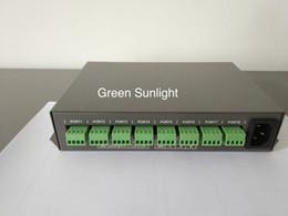 Wholesale Dmx Sd Card - YT-980D DMX controller DMX 512 controller sd card made program can control 100meter distance 8000pcs led light