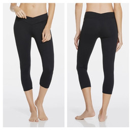 Wholesale Leggings Capri Pants - Brand New B&S YOGA Mid Rise Capri Black Women's Leggings Sports & Fitness Pants