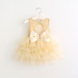 Wholesale Wholesale Dance Dresses For Kids - Girls dresses Lace Butterfly Princess Dress for Girl Summer Lace Tulle Tiered Kids Tutu Dresses Cute Children Dance Dress C513