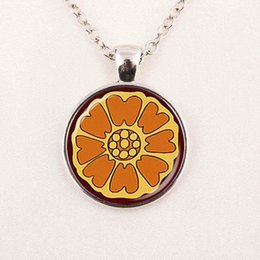 Wholesale Avatar Pendant - popular movie avatar the last airbender pai sho white lotus necklace fashion handmade pendant