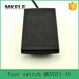Wholesale Foot Surfaces - Free Shipping Rubber Surface Top Quality IP67 Waterproof Nonslip Universal Tattoo Machine Foot Switch With Cable Wire