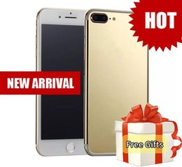 Wholesale New Video Cameras - New Arrival goophone i8 plus i7s plus 4G Network Quad Core MTK6580 1GB 16GB+64GB Android 6.0 GPS WiFi 13.0MP Camera phones i8