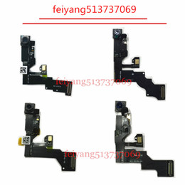 Wholesale Iphone Replacement Original - 10pcs Original 100%test working Front Camera for iPhone 6 6s 6 plus 6s plus Sensor Proximity Light Ribbon Flex Cable replacement