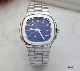 Wholesale Square Luminous Watch - Hot Sale relojes hombre 2017 Famous Brand Mens Watches Top Brand Luxury Sport Watch Luminous Clock Men Steel Watchband Quartz Wrist Watch