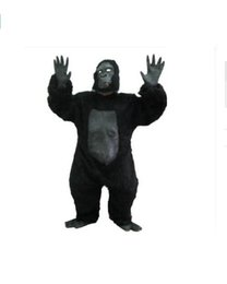Wholesale Gorilla Adult Costume Mascot - Hot!! 2017 Chimpanzees Mascot costume Adult Size for Easter Halloween party Holiday Decoration