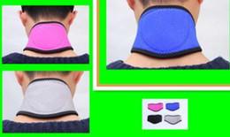 Wholesale Cervical Neck Support Braces - 1pcs care Tourmaline Magnetic Therapy Neck Brace Tourmaline Belt Support Cervical Vertebra Protection Spontaneous Self Heating