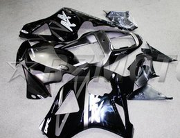 Wholesale Cbr954rr Fairings - 3 gifts For HONDA CBR954RR CBR900RR 02 03 Free Customized CBR CBR900 900RR 954 954RR CBR954 RR 2002 2003 Fairing Cool Silver Black Color