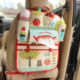 Wholesale Korean Car Bag - Korean trade thickening washable cute cartoon car seat hanging bag car seat hanging bag