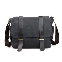 Wholesale Vintage Quality Camera - Vintage 2017 new arrival High Quality Waterproof canvas messenger Bag Camera Shoulder Bag Travel crossbody Bag