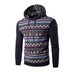 Wholesale Q Up - Wholesale-2016 New Fashion Hoodie Men Patchwork Stitching Raglan Sleeve Ethnic Style Hoodies Casual Male Sweatshirt Tracksuits Masculino Q