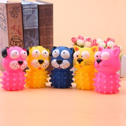 Wholesale Grinding Dog - Dog Toys Pets PVC Play Toy Sound Making Toy Cats Dogs Poke Teeth Grinding Ball Funny Eco-Friendly