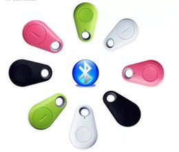 Wholesale bluetooth cell phone alarm - Mini GPS Tracker Bluetooth Key Finder Anti-Lost Alarm 8g Two-Way Item Finder for Children,Pets, Elderly,Wallets,Cars, Phone Retail Package