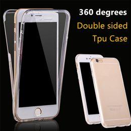 Pour iPhone 7 7 6 6S Plus iPhone 4 4S 5 5S SE 5C 360 Degré De Protection Complète TPU Transparent Avant Et Arrière Plein Écran Tactile ? partir de fabricateur