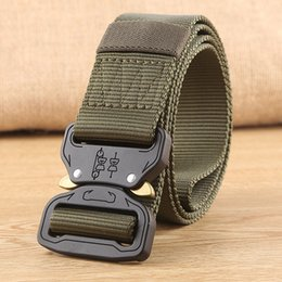 Wholesale Army Pendants - Tactical Belt, Male Army FanBlack Hawk Pendant Nylon Inner Belt for Training