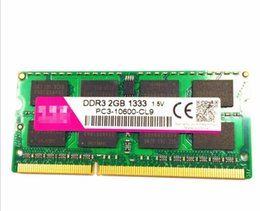 Wholesale Ddr3 Pc3 - Brand New Laptop Computer RAM 2GB DDR3 1333 PC3-10600 Memory chip Support Dual Channel 4G for Laptop Computer