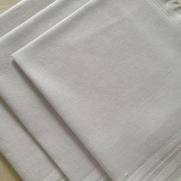 Wholesale pocket handkerchiefs - 24pcs lot 100% Cotton Satin Handkerchief White Color Table Handkerchief Super Soft Pocket Towboats Squares 34cm Free Shipping